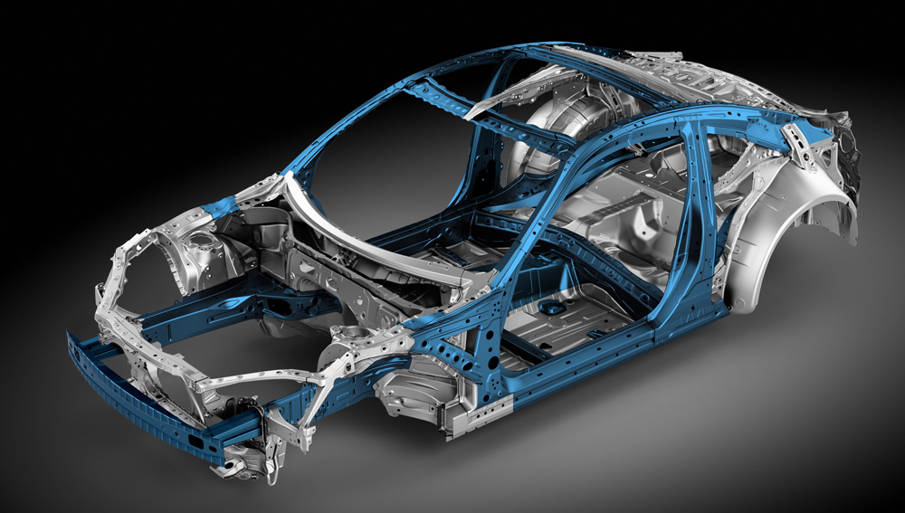 2020 Subaru BRZ Advanced Ring-shaped Reinforcement Frame