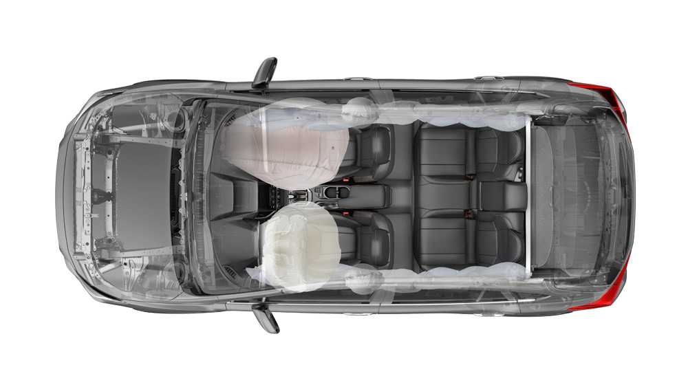 2020 Subaru Crosstrek Airbags